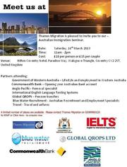 Migration Australia Seminar