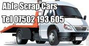 FREE,  friendly scrap car collection in Warwickshire
