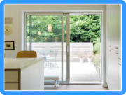 Choose From Either Aluminium or PVC Sliding Patio Doors