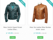 Buy online leather jackets for women in UK