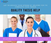 Quality Thesis Help at the Affordable Price